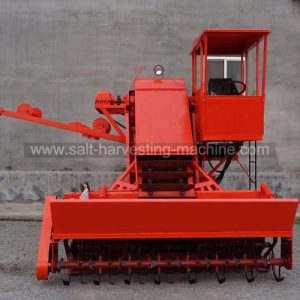 salt collecting machine