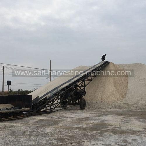 Loading belt conveyor
