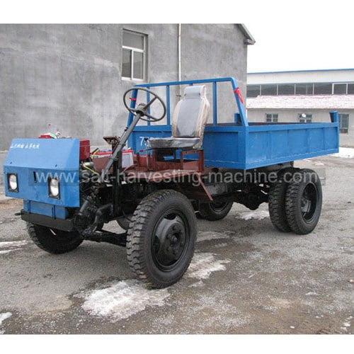 Salt transport truck