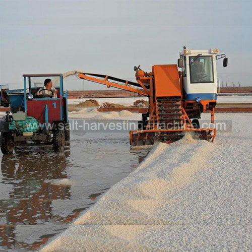 salt collecting machine